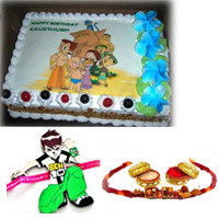 Rakhi with Chhota Bheem