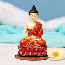 Soothing Lord Buddha Idol