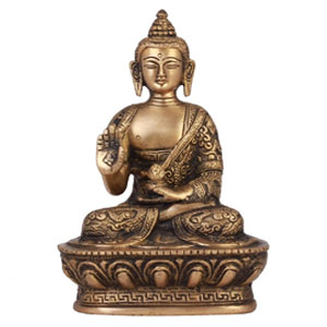 Brass Statue Of Buddha