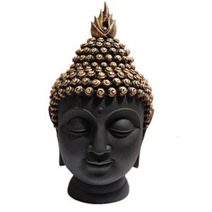 Buddha Head Figurine