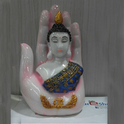 pink Color Buddha