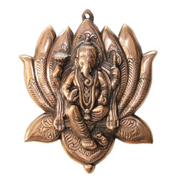 Lotus Wall Ganesh