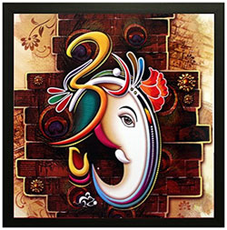 Ganesha' Framed Painting