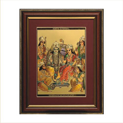 Lord Ram Parivar frame