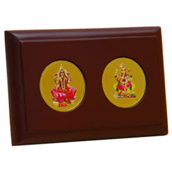 Goddess Lakshmi & Ganesh