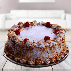 Round butter scotch cake