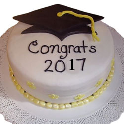 2kg Graduation Theme Cake to Rajahmundry