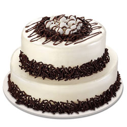 2 Tier Black Forest Cake  to Vizag