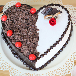 Black forest cake  to Vijayawada