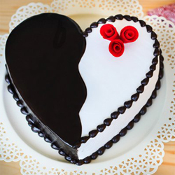 Black forest cake  to Vizag