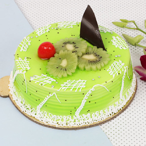 Kiwi Layered CakeBirthdayCakes gifts flowers cakes delivery in