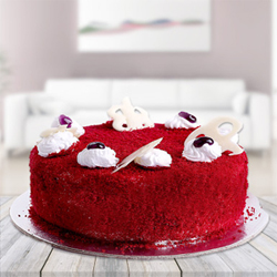 Red Velvet  Cake to Guntur
