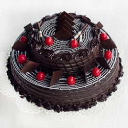 2 Tier Chocolate Truffle Cake