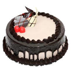 Dark Chocolate Gateaux 1kg  to Vizag