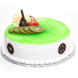 Bored of regular flavours? Try our premium kiwi flavoured cake with soft fresh cream and topped with adorable fruits