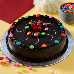 Chocolate Gems Cake to Vizag