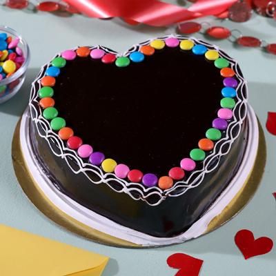 Chocolate Gems Cake