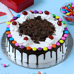 Black forest  Gems Cake to Vizag