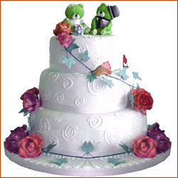 Wedding Cake to Vijayawada