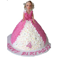 Barbie Cake -4kg  to Rajahmundry