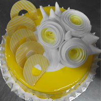 Jell butter scotch cake  to Kakinada
