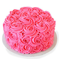 Pink Rose Cake to Vizag
