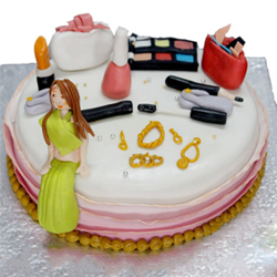 Make Up Kit Cake to Vizag