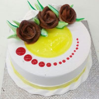 Mouth Watering Fresh Cream Cake, 