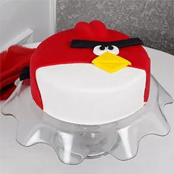 Angry Bird cake to Vizag