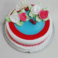 Strawberry Cake 1kg  to Kakinada