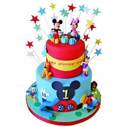 Dazzling Disney Cake 3kg to Kakinada