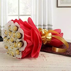 24pcs Ferrero Rocher Bouquet
