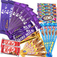 Assorted 25 Cadbury Chocolates Bars