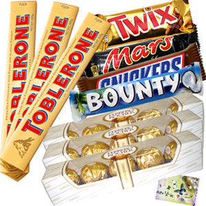 Assortment of 10 Imported Bars