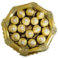 16 pcs Ferrero Rocher Tray to Rajahmundry