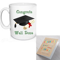 Congratulations mug+ Congratulations Greeting card