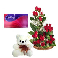 Flowers Teddy & Chocolate