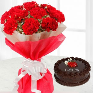 Flowers&cake