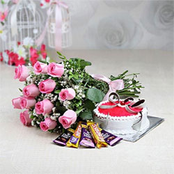 Roses&cake