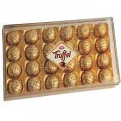 Truffle chocolates box