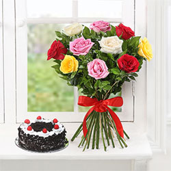 Cake&flowers