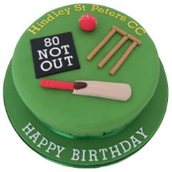 Cricket Fondant Cake 2kg