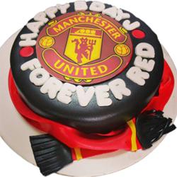 Manchester United Cake 2kg