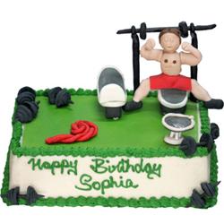 Green Gym Cake 3kg