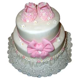 Baby Girl 2 Step Cake 3kg