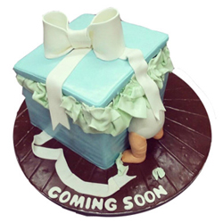 Welcome Baby Cake 3kg