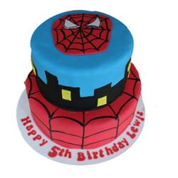 Spider Man Fondant Cake 4kg