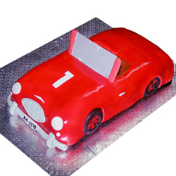 Red Car Cake 3kg