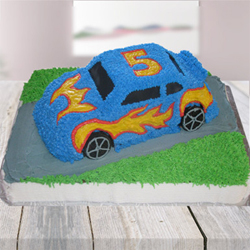 Car Shape Cake 3kg