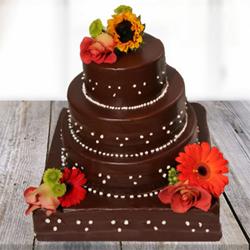 Dazzling Chocolate Cake 5kg
